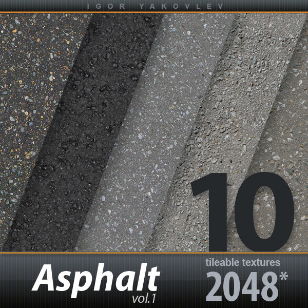 Asphalt Textures vol.1